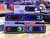 Беспроводная портативная Bluetooth Speaker колонка K8 EXTRA BASS, Переносная Usb-колонка с подсветкой FM радио, фото 3