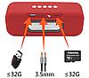 Беспроводная портативная Bluetooth Speaker колонка K8 EXTRA BASS, Переносная Usb-колонка с подсветкой FM радио, фото 4