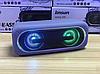 Беспроводная портативная Bluetooth Speaker колонка K8 EXTRA BASS, Переносная Usb-колонка с подсветкой FM радио, фото 5