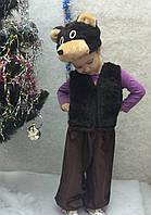 Карнавальный детский костюм мишка