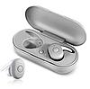 Бездротові вакуумні навушники TWS DT-1, Bluetooth гарнітура з мікрофоном для смартфона і спорту, Чорні, фото 2
