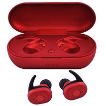 Беспроводные вакуумные наушники TWS DT-1, Bluetooth гарнитура с микрофоном для смартфона и спорта, Синие, фото 3