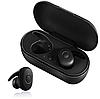 Бездротові вакуумні навушники TWS DT-1, Bluetooth гарнітура з мікрофоном для смартфона і спорту, Сині, фото 2