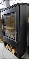 Кафельная печь камин на дровах Thorma Alvesta 2 Черная (каминфоен)
