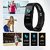 Фітнес браслет трекер Smart Band Y5, Розумні спортивні сматр годинник для здоров'я з тонометром, крокоміром, фото 5