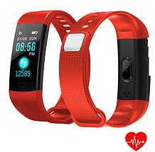 Фитнес браслет трекер Smart Band Y5, Умные спортивные смарт часы для здоровья с тонометром, шагомером IP67, фото 3