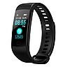 Фитнес браслет трекер Smart Band Y5, Умные спортивные смарт часы для здоровья с тонометром, шагомером IP67, фото 4