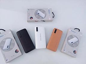 Универсальный мобильный PowerBank 20000mAh c фонариком, Портативное зарядное устройство для телефона Павербанк, фото 3