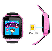 Дитячі розумні смарт годинник c GPS Q528, Smart baby watch з камерою, прослуховуванням, Годинник-телефон для, фото 3