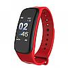 Фітнес браслет трекер Smart Band C1, Розумні спортивні сматр годинник для здоров'я з тонометром, крокоміром, фото 5