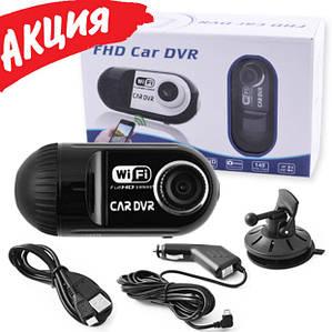 Автомобільний відеореєстратор Full HD Car DVR для авто, Бездротовий реєстратор машину з WiFi, записом 03