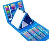 Набір для малювання 208 предметів з мольбертом для дітей, Великий дитячий подарунковий валізку творчості, фото 5