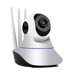 Камера Ip відеоспостереження Wifi microsd 6030, Бездротова поворотна відеокамера для дому з записом, Ipcam