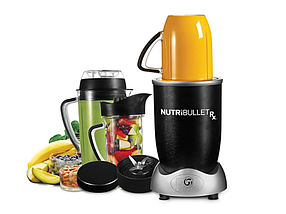 Кухонный блендер NutriBullet RX 1700W, Многофункциональный фитнес мини комбайн Нутрибуллет, Измельчитель, фото 2