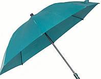 Женский качественный механический зонт-трость с большим куполом EuroSCHIRM City Partner W212-CPG/SU1 бирюзовый