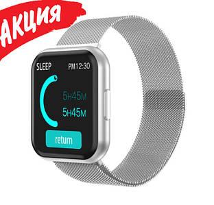 Умный фитнес браслет трекер Smart Band T88 Cпортивные смарт часы для здоровья с тонометром шагомером IP67