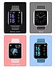 Фітнес браслет трекер Smart Band T80S, Розумні спортивні смарт годинник для здоров'я з температурою,, фото 3