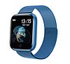 Фітнес браслет трекер Smart Band T80S, Розумні спортивні смарт годинник для здоров'я з температурою,, фото 5