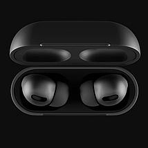 Навушники Епл Airрods Pro, Бездротові вакуумні Bluetooth навушники для Iphone, Люкс копія 1в1 з кейсом Чорні, фото 3