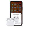 Навушники Епл Airрods Pro, Бездротові вакуумні Bluetooth навушники для Iphone, Люкс копія 1в1 з кейсом Чорні, фото 4