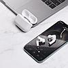 Навушники Епл Airрods Pro, Бездротові вакуумні Bluetooth навушники для Iphone, Люкс копія 1в1 з кейсом Чорні, фото 6