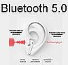 Беспроводные сенсорные наушники i12 TWS для смартфона, Гарнитура с микрофоном люкс копия airpods Bluetooth 5.0, фото 6