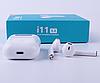Беспроводные сенсорные наушники Tws i11 Гарнитура с микрофоном для смартфона, люкс копия airpods bluetooth 5 0, фото 5
