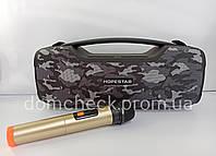 Bluetooth колонка HOPESTAR A6 Pro с микрофоном ОРИГИНАЛ, 55 Вт МЕГА БАСС!
