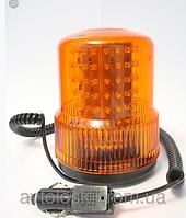 Мигалка жёлтая светодиодная TR 502-19 (магнит) 12В 24В