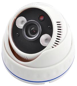 Камера Ip відеоспостереження ZX-611SD, Внутрішня, поворотна відеокамера з записом, купольна Ipcam SD карта