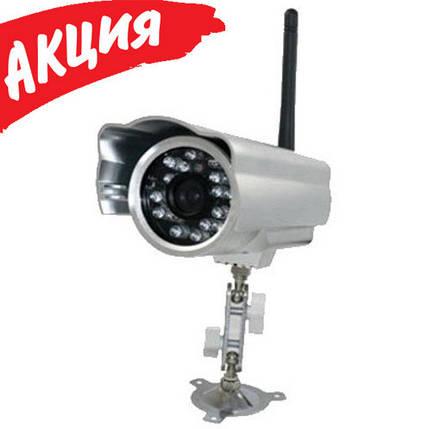 Камера Ip видеонаблюдения LUX-J601-WS, Наружная, цилиндрическая видеокамера с ИК подсветкой, уличная IP66, фото 2