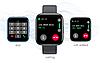 Фітнес браслет трекер Smart Band T99S, Розумні спортивні смарт годинник з мікрофоном для здоров'я,, фото 5