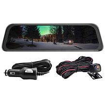 Автомобильный видеорегистратор зеркало дисплей DVR L9100, Авто двухкамерный регистратор в машину Full HD 1080p, фото 2