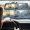 Автомобильный видеорегистратор зеркало дисплей DVR L9100, Авто двухкамерный регистратор в машину Full HD 1080p, фото 5