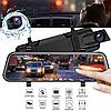 Автомобильный видеорегистратор зеркало дисплей DVR L9100, Авто двухкамерный регистратор в машину Full HD 1080p, фото 6