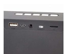 Портативная колонка SC211 Bluetooth, Беспроводная, переносная USB акустика с микрофоном, Mp3, FM радио, фото 3