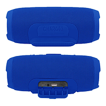 Бездротова Bluetooth колонка JBL Charge 3 Переносна портативна USB bluetooth акустика з мікрофоном Mp3, фото 2