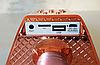 Беспроводной караоке микрофон Wster ws 858 Портативный USB радиомикрофон с изменением голоса светомузыкой, фото 4