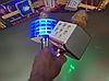Беспроводной караоке микрофон Wster ws 858 Портативный USB радиомикрофон с изменением голоса светомузыкой, фото 5