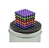 Неокуб 216 шариков 5мм в боксе Магнитные шарики Neocube цветной антистресс конструктор-головоломка никель, фото 2