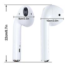 Портативная беспроводная колонка UKC Giant Headphone Блютуз акустика Speaker FM USB Bluetooth 22,2см, фото 3