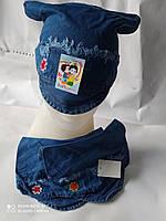 Козирок для дівчаток, джинс (4-6 років) купити оптом від складу 7 км Одеса