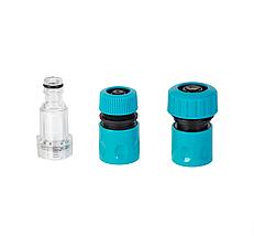 Аппарат высокого давления Sigma 6.7л/мин Мойка портативная для авто Минимойка Универсальная 130 бар 1700 Вт, фото 3