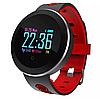 Фітнес браслет трекер Q8 Розумні спортивні круглі смарт годинник для здоров'я з тонометром крокоміром, фото 5