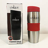 Термокружка UNIQUE UN-1072 0.38 л. Колір: червоний