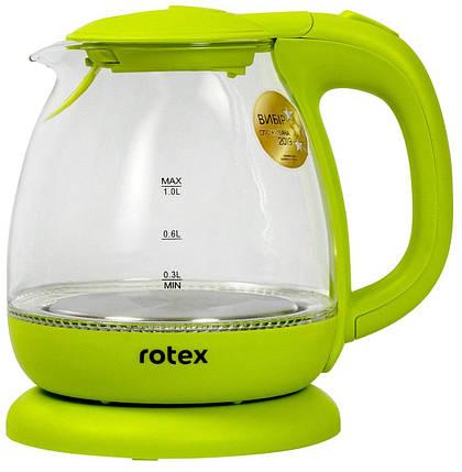 Електрочайник ROTEX RKT80 - GP (1100 Вт), фото 2