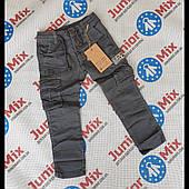 Детские котоновые брюки для мальчиков оптом H&H 110---140см