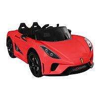 Електромобіль T-7656 EVA RED легковий на Bluetooth 2.4G Р/У 2*6V4.5AH мотор 2*15W з MP3 112*66*48 /1/