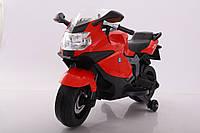 Електромобіль T-7235 EVA RED мотоцикл 12V7AH мотор 1*25W з MP3 106*50*65 /1/