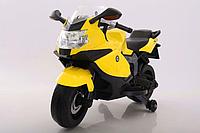 Електромобіль T-7235 EVA YELLOW мотоцикл 12V7AH мотор 1*25W з MP3 106*50*65 /1/
